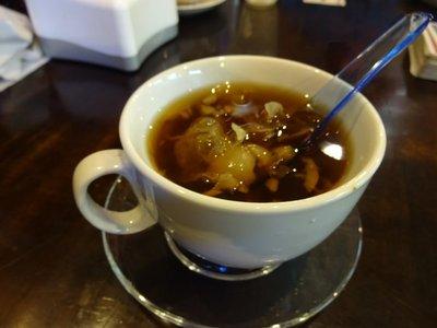 Thai Sweet Soup with seaweed (it tasted disgusting), Ipoh