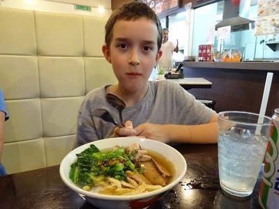 Pork Noodle Soup, Thomas's favourite, Ipoh