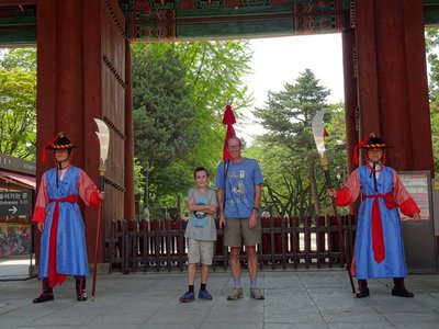 Changing of the Guard, Daehanmun Eastern Gate, Deoksugung Palace