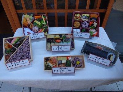 Plastic replicas of sushi and sashimi, Himeji