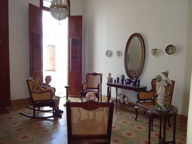Living Room of Casa Particulares - Cienfuegos