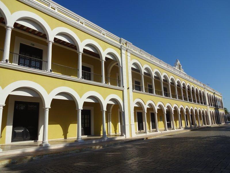 El Palacio Central Culturo, Campeche