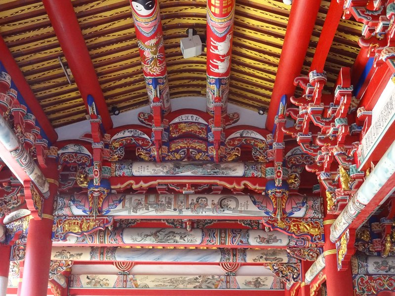 Temple ceiling, Changhua