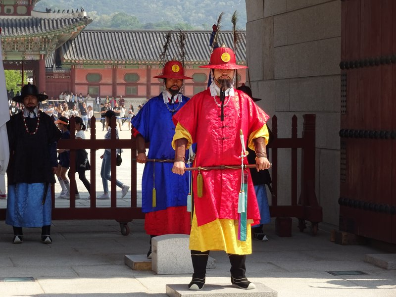 Changing of the Guard, Gyeongbokgung Palace