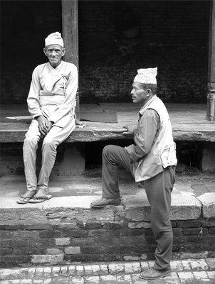 nepal - katmandu valley - bhatktapur