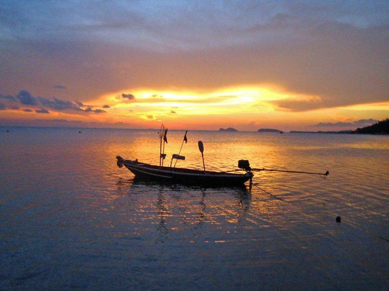 Sunset on Kho Pha Ngan
