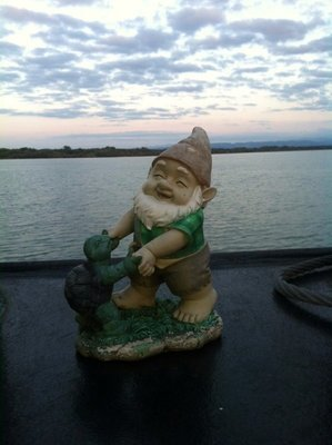 Gary crossing the Bodensee, Germany