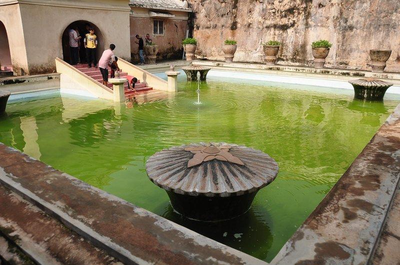 A Pool at Umbul Binangun Tamansari