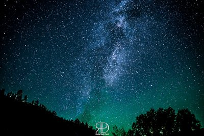 Milky Way VS Aurora Borealis at Salmon River (Idaho - USA)