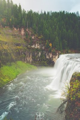 Upper Mesa Falls.Yellowstone Article out very soon!