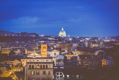 Colorful Rome by Night