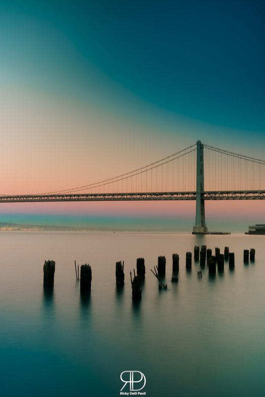 Sunset at Bay Bridge