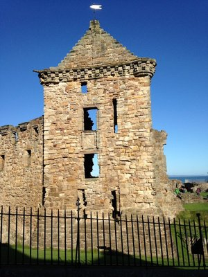 10/8- St. Andrew's Castle Ruins