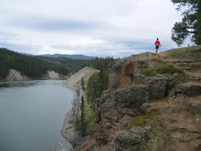 Whitehorse, Yukon, Joe-Miles Canyon Hike