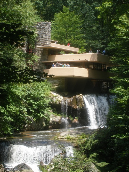 Waterfalls and Frank Lloyd Wright's Fallingwater