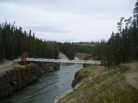 Whitehorse, Yukon; Miles Canyon Suspension Bridge