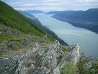 South View from Mount Roberts viewpoint, Juneau, Alaska