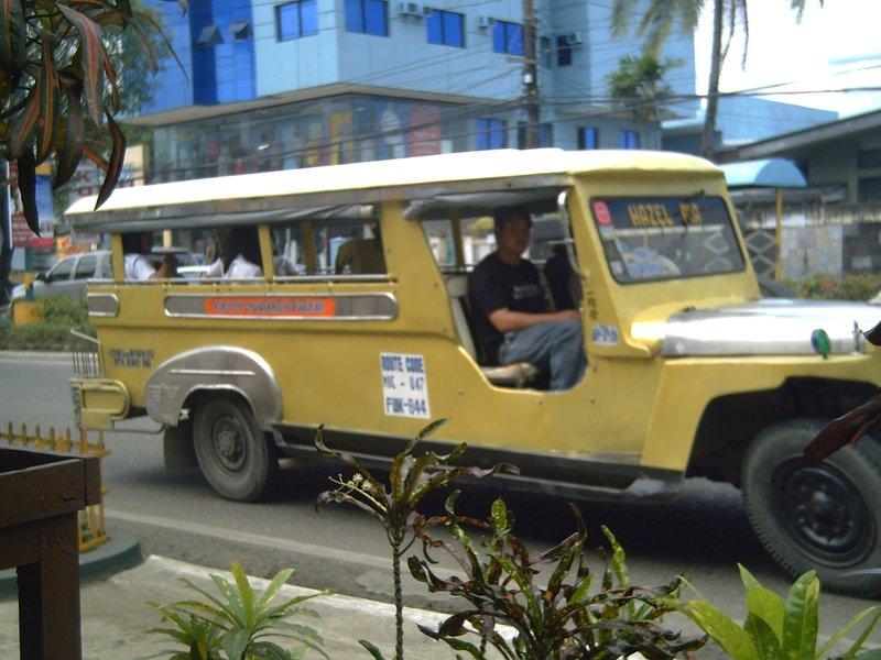 Jeepney in Iloilo
