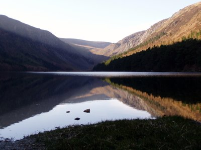 lake in Glendallough