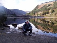 lake in Glendallough