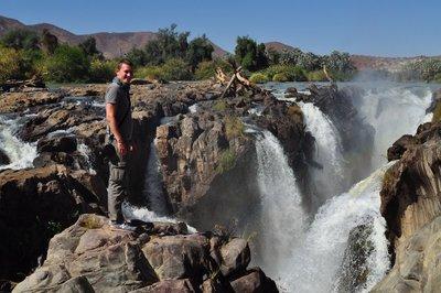 Waterfall Kunene (Namibia)
