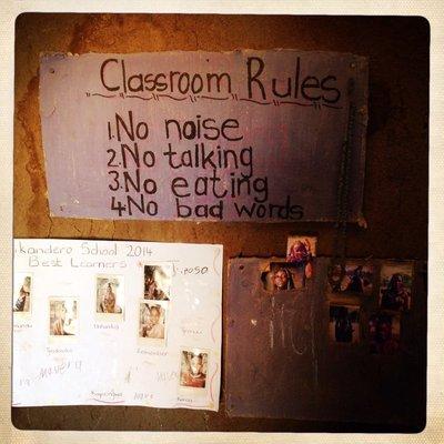 Classroom Rules (Namibia)