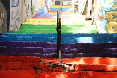 Colorful Stair (Istanbul)