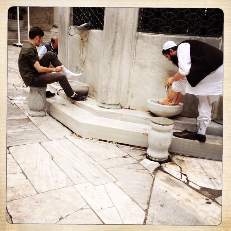 Foot Washing (Istanbul)