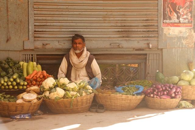 Seller in Kathmandu