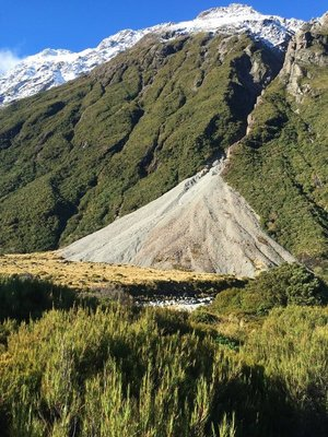 Scree Hooker Valley Track, Mt Cook