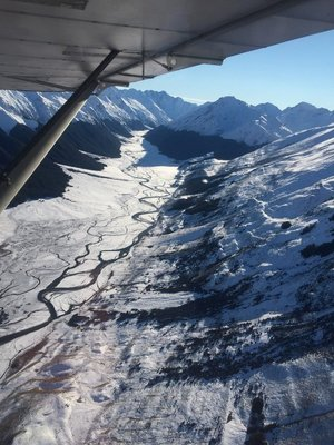 Southern Alps, view from the air 2