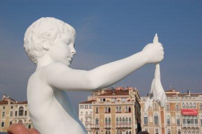 Statue by Santa Maria Della Salute