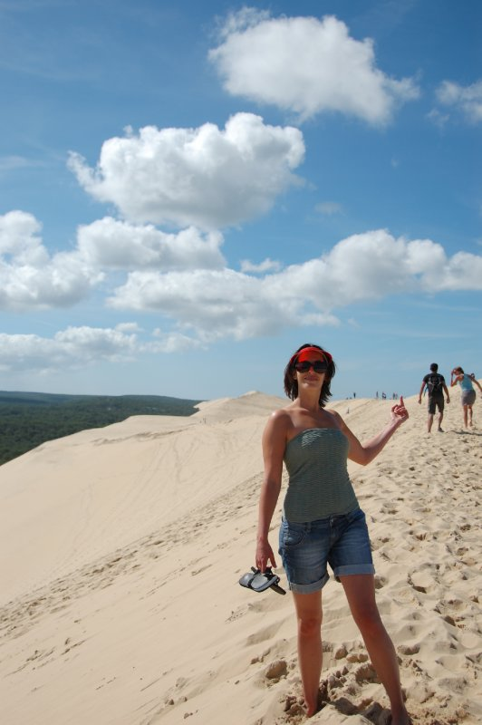 Di at la Dune du Pilat