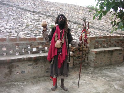 Aghori Sadhu in india