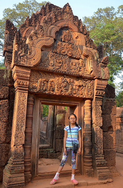 At Banteay Srei