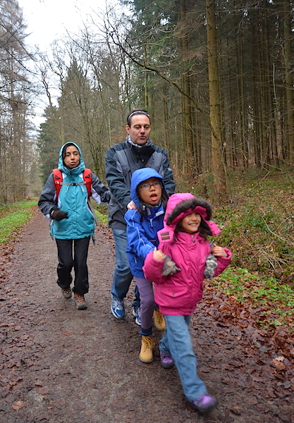 A little walk in the wood with friends