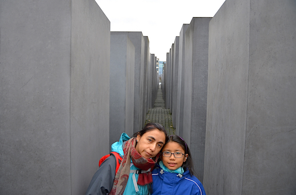 The Memorial to the Murdered Jews of Europe, also called the Holocaust Memorial.
