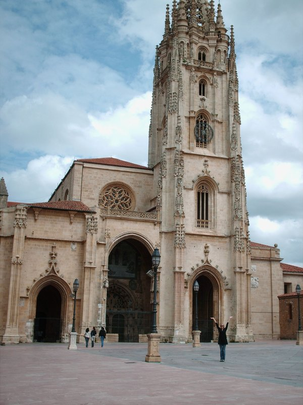 The Cathedral in Oviedo