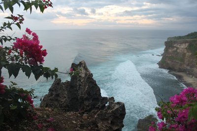 View from Uluwatu cliff