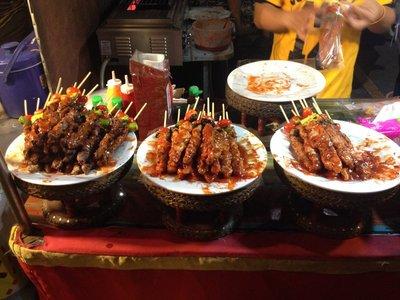 Delicious Gravy Chicken Satay