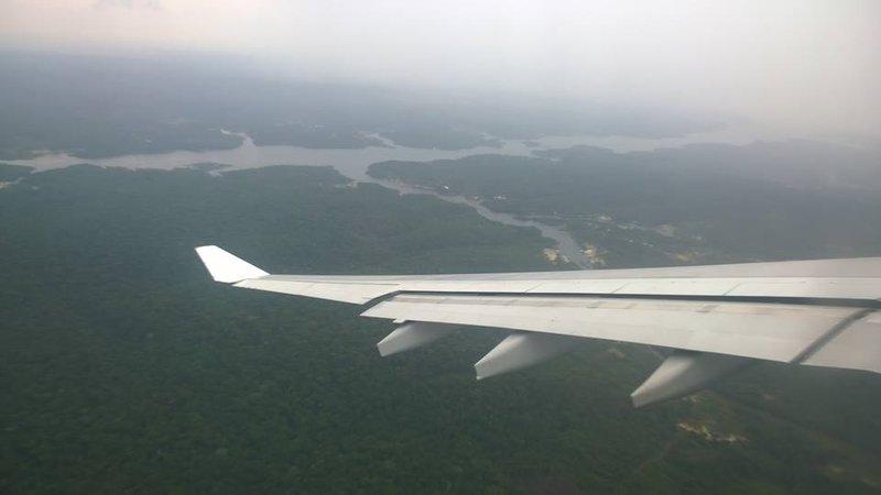In volo sopra l'Amazzonia 3