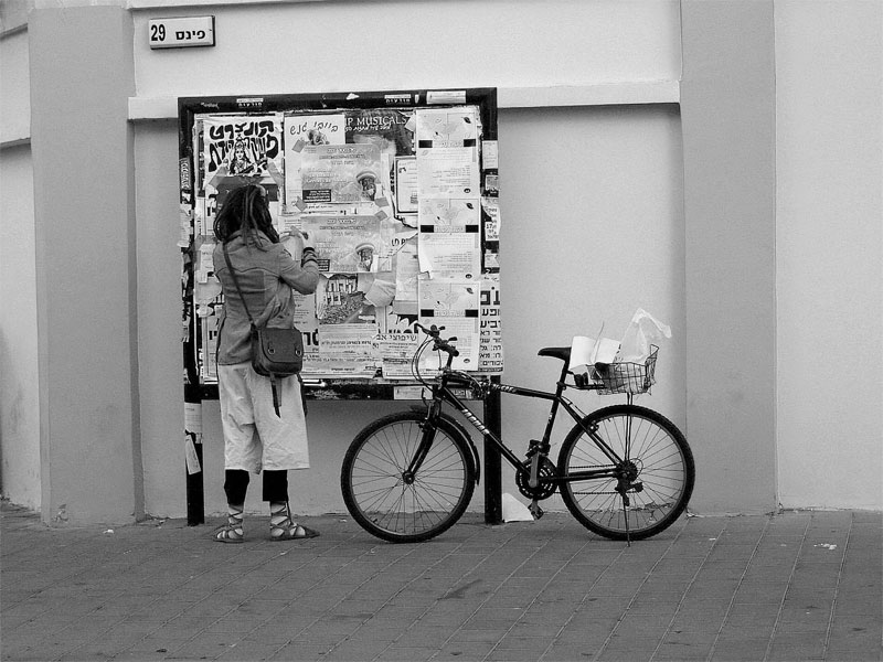bycicle girl