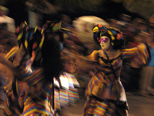 Dancers in the Carnaval