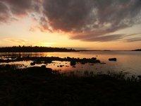 White Sea Sunset