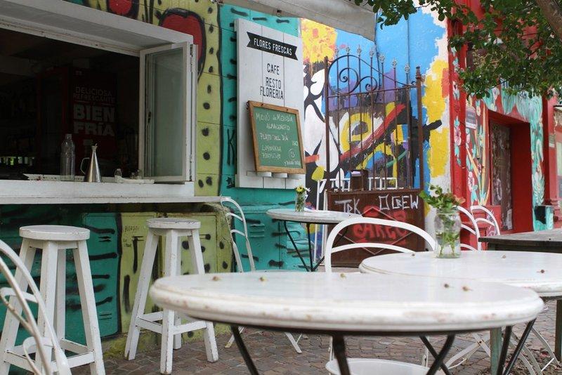Een gezellig cafe in Tigre