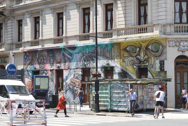 De straten van Buenos Aires