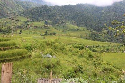 Giang Ta Chai village at Sapa