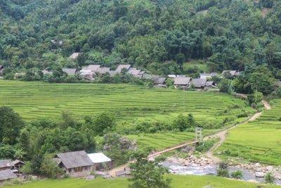 Muong Hoa valley at Sapa town