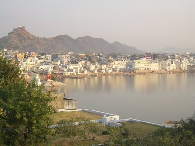 Pushkar Lakeview from Hotel Rooftop 02
