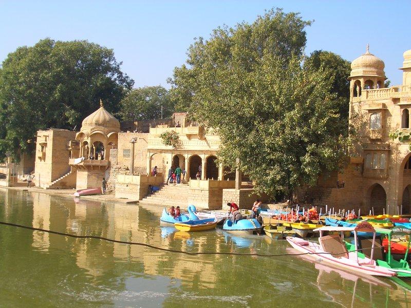 Jaisalmer Gadi Saga Lake 05